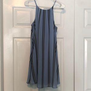 Francescas Blue Rair Sleeveless Dress